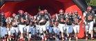 First Presbyterian Day Vikings Boys Varsity Football Fall 17-18 team photo.