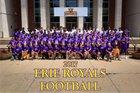 Erie Royals Boys Varsity Football Fall 17-18 team photo.