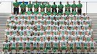 Concord Minutemen Boys Varsity Football Fall 17-18 team photo.