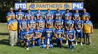 Pike Valley Panthers Boys Varsity Football Fall 17-18 team photo.