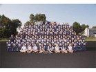Lake Park Lancers Boys Varsity Football Fall 17-18 team photo.