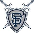 St. Francis Knights Boys Varsity Football Fall 17-18 team photo.