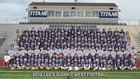 Lee's Summit West Titans Boys Varsity Football Fall 17-18 team photo.