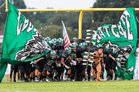 Choctawhatchee Indians Boys Varsity Football Fall 17-18 team photo.