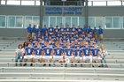 Mountain Home Bombers Boys Varsity Football Fall 17-18 team photo.