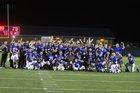 Goddard Lions Boys Varsity Football Fall 17-18 team photo.