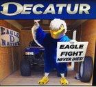 Decatur Eagles Boys Varsity Football Fall 17-18 team photo.