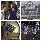 West Orange-Stark Mustangs Boys Varsity Football Fall 17-18 team photo.