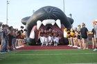 Bells Panthers Boys Varsity Football Fall 17-18 team photo.