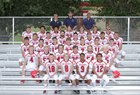 Hornell Red Raiders Boys Varsity Football Fall 17-18 team photo.