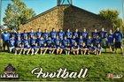 La Salle Lightning Boys Varsity Football Fall 17-18 team photo.