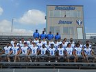 Cross County Thunderbirds Boys Varsity Football Fall 17-18 team photo.