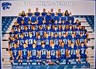 Ford Panthers Boys Varsity Football Fall 17-18 team photo.