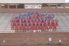 Randleman Tigers Boys Varsity Football Fall 17-18 team photo.