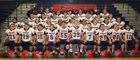 Chenango Forks Blue Devils Boys Varsity Football Fall 17-18 team photo.