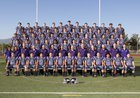 Valencia Vikings Boys Varsity Football Fall 17-18 team photo.