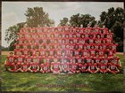 Neshaminy Redskins Boys Varsity Football Fall 17-18 team photo.