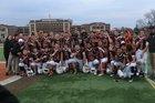 Dumont Huskies Boys Varsity Football Fall 17-18 team photo.