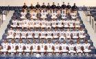 Jenkins County War Eagles Boys Varsity Football Fall 17-18 team photo.