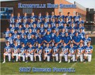 Eatonville Cruisers Boys Varsity Football Fall 17-18 team photo.