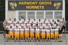Harmony Grove Hornets Boys Varsity Football Fall 17-18 team photo.