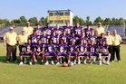 Gurdon Go-Devils Boys Varsity Football Fall 17-18 team photo.