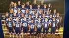 Conway Christian Eagles Boys Varsity Football Fall 17-18 team photo.