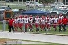 North Fort Myers Red Knights Boys Varsity Football Fall 17-18 team photo.