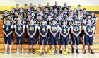 St. Pius X Sartans Boys Varsity Football Fall 17-18 team photo.