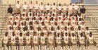 Amory Panthers Boys Varsity Football Fall 17-18 team photo.