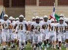 Cypress Ranch Mustangs Boys Varsity Football Fall 17-18 team photo.