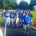 Union/Allegheny-Clarion Valley  Boys Varsity Football Fall 17-18 team photo.