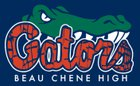 Beau Chene Gators Boys Varsity Football Fall 17-18 team photo.