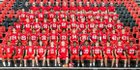 South Point Red Raiders Boys Varsity Football Fall 17-18 team photo.
