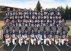 Rogers Rams Boys Varsity Football Fall 17-18 team photo.