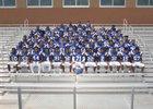 Garner Magnet Trojans Boys Varsity Football Fall 17-18 team photo.