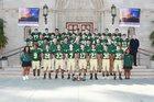 St. Monica Mariners Boys Varsity Football Fall 17-18 team photo.