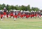 East River Falcons Boys Varsity Football Fall 17-18 team photo.
