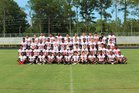 Hoke County Bucks Boys Varsity Football Fall 17-18 team photo.