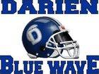 Darien Blue Wave Boys Varsity Football Fall 17-18 team photo.