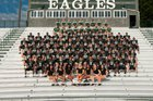 Collins Hill Eagles Boys Varsity Football Fall 17-18 team photo.