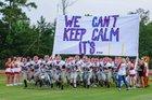 Oak Grove Tigers Boys Varsity Football Fall 17-18 team photo.