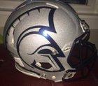 McDowell Trojans Boys Varsity Football Fall 17-18 team photo.