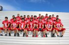 Tatum Coyotes Boys Varsity Football Fall 17-18 team photo.