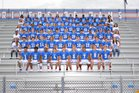 Riverside Ram Boys Varsity Football Fall 17-18 team photo.