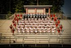 Signal Mountain Eagles Boys Varsity Football Fall 17-18 team photo.