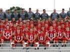 Natick Redhawks Boys Varsity Football Fall 17-18 team photo.