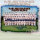 Sachse Mustangs Boys Varsity Football Fall 17-18 team photo.