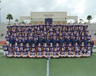 Yorba Linda Mustangs Boys Varsity Football Fall 17-18 team photo.