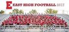 East Leopards Boys Varsity Football Fall 17-18 team photo.